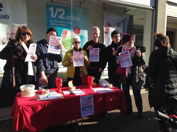 Margate on Saturday: pop-up street stall